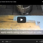 Walnut Shell Non-Skid