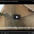 Corn Cob Log Home