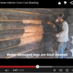 Corn Cob Log Home Inside