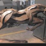 Media Blasting Sculpture