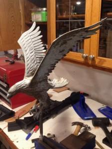 Eagle Ornament Needing Restoration