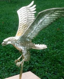 Eagle Ornament Restored Gold-Leaf 2